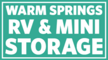 Warm Springs RV and Mini Storage logo